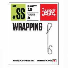 Соединители LUCKY JOHN безузл. LJ Pro Series WRAPPING 01SS 04кг 8шт.